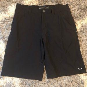 NWOT Oakley Black Nylon Shorts